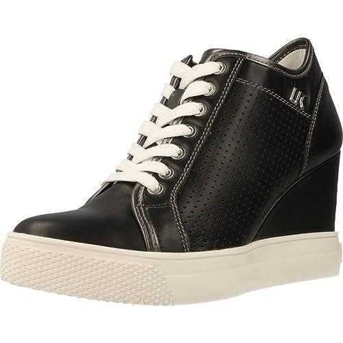 S22 Lumberjack 001 36 Donna Sneakers Pelle Sw24705 Black odWrCeBx