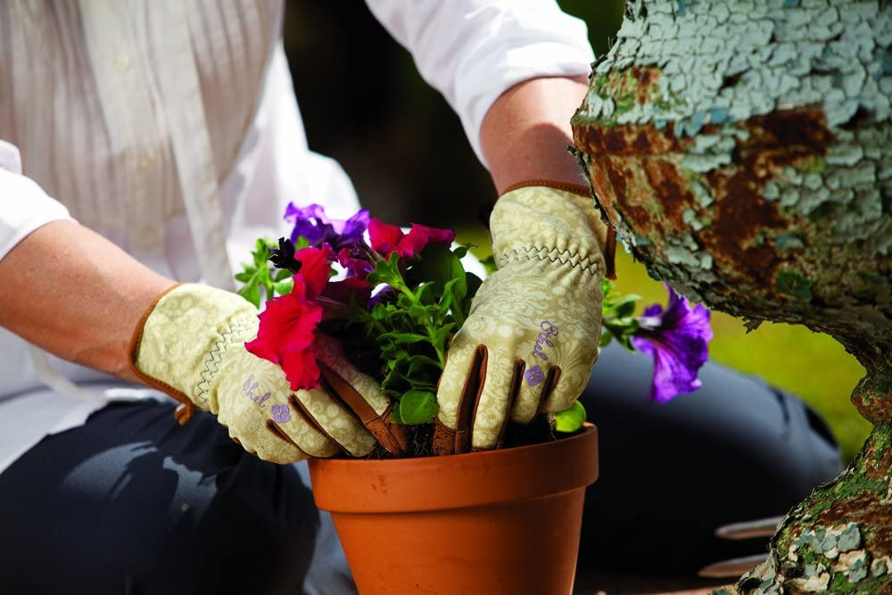 London Ltd Ethel Traditional Rendezvous talla grande Rollins /& Sons Guantes de jardiner/ía