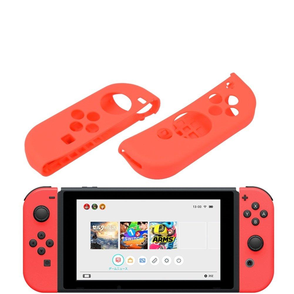 AZFUNN Joy-con - Carcasa de Silicona para Nintendo Switch ...