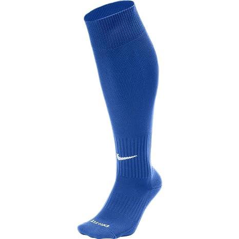 73c458faf91e Amazon.com   Nike Classic II Cushion Over-the-Calf Soccer Football Sock  (Royal Blue White