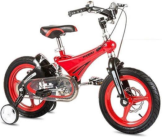 Jsmhh Niños de bicicletas niños al aire libre bicicleta con ruedas ...
