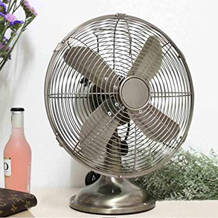 "Sunny 12""/16"" Luxury Antique Oscillating Desk Fan For Office,  Bedroom, - Amazon.com: Sunny 12"
