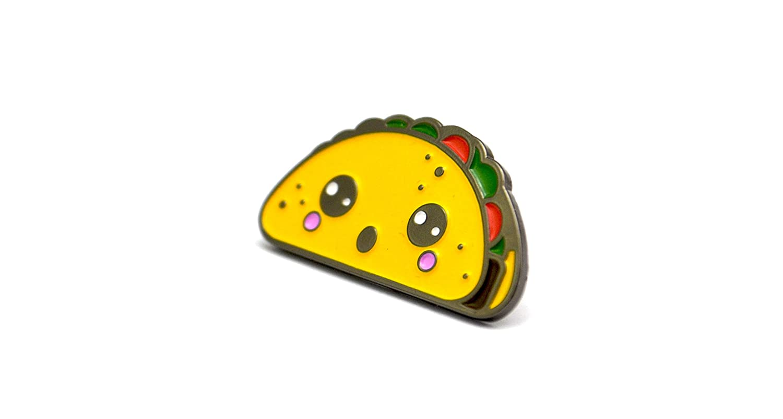 The Kawaii Taco Pin Sloth Steady KawaiiTaco