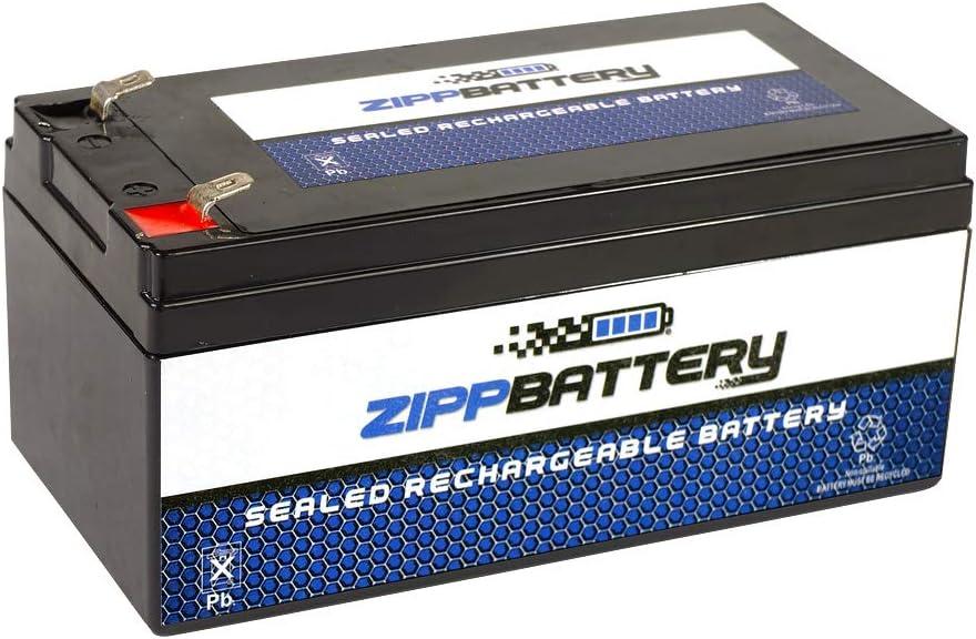 SLA Replacement Battery for 12V 3.5AH AGM Battery- Replaces BP3-12 BP3.6-12 CF12V2.6 CFM12V3 CP1232- Zipp Battery