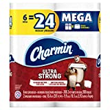 #10: Charmin Ultra Strong Toilet Paper, 6 Mega Rolls