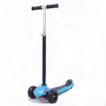 Mmilo © DB3 moto para adultos y para niños los niños de 3 ruedas patinete inclinación