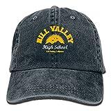 suicide shower head - DA41SXK1 Hill Valley High School - Future Movie Unisex Flat Bill Hip Hop Cap Baseball Hat Head-Wear Cotton Snapback Hats Navy