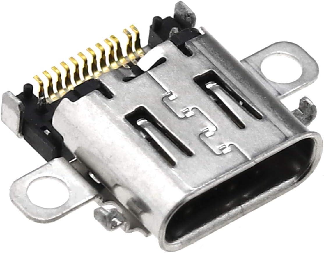OTOTEC Puerto de Carga Tipo C C Cargador Socket Conector de Repuesto para Nintendo Switch