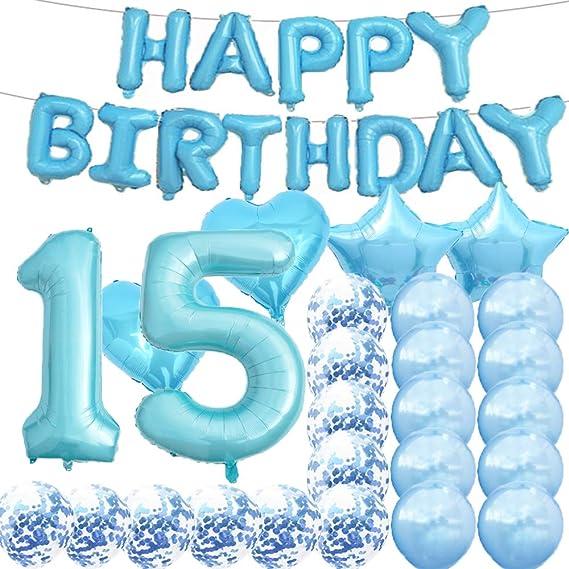 Party Decorations Birthday Gift Happy Birthday Party Supplies Birthday Girl Quarantine Birthday Balloons 15th Birthday Quincea\u00f1era