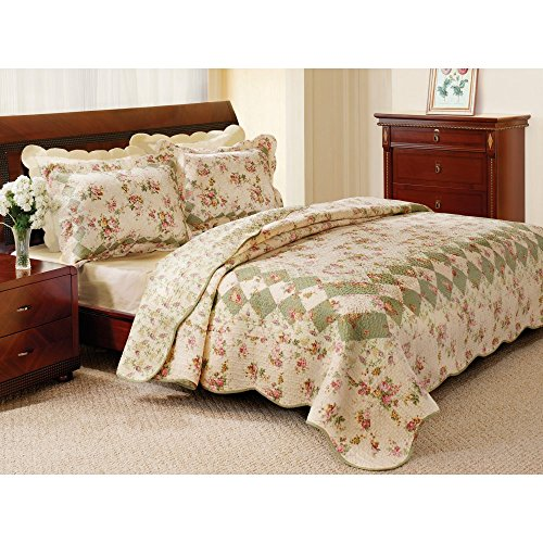 Bliss Ivory Quilt Set Size: King