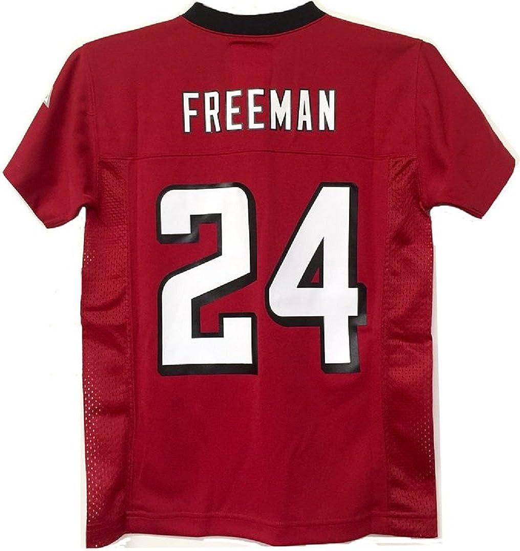 Devonta Freeman Atlanta Falcons #24 Red NFL Youth Home Mid Tier Jersey