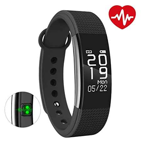 341077b903f Bingo F1 Waterproof Silicon Smart Fitness Band for All Android   iOS Devices  (Black)