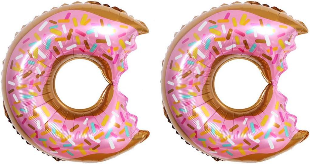 Wedding Baby Shower 25 Pcs Donut Paper Straw for Donut Party Theme Birthday