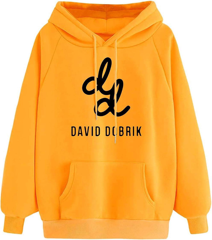 UKNOWu David Dobrik Merch Unisex Hoodie Funny Original Design for Teenagers Weekend Festival