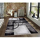 7030 Gray 5'2x7'2 Area Rug Modern Carpet Large New