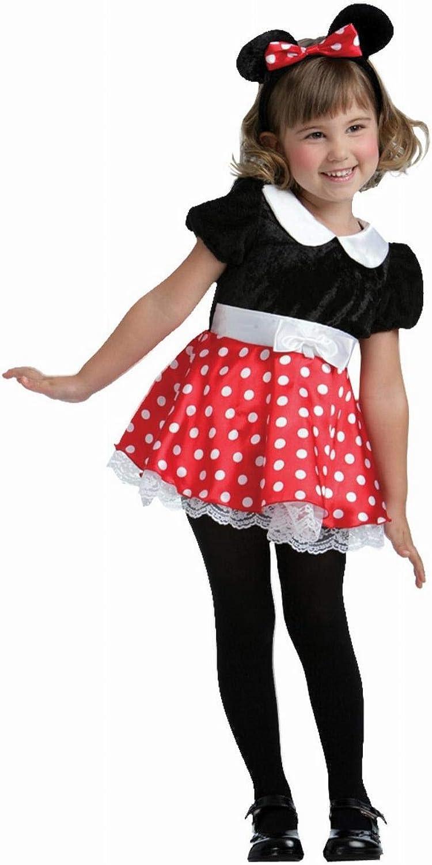 Disfraz Ratita Minnie Talla 1-2 Años: Amazon.es: Juguetes y juegos