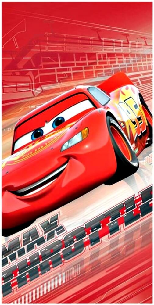 Made in Trade Cars 3 Serviette en Polyester, 2200002774 Cerda