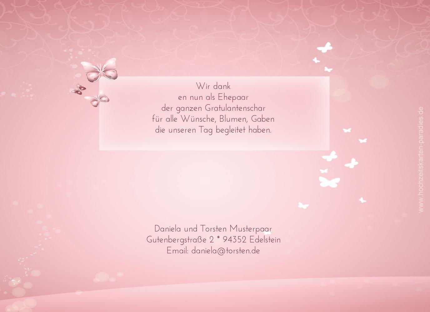 Kartenparadies Danksagung für Hochzeitsgeschenke Hochzeitsgeschenke Hochzeitsgeschenke Hochzeit Danke Dream, hochwertige Danksagungskarte Hochzeitsglückwünsche inklusive Umschläge   10 Karten - (Format  148x105 mm) Farbe  HellRosa B01NBX07CR | eine breite Palette von Produ 2ffea1