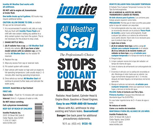 Irontite All Weather Seal, Blue, 16 oz