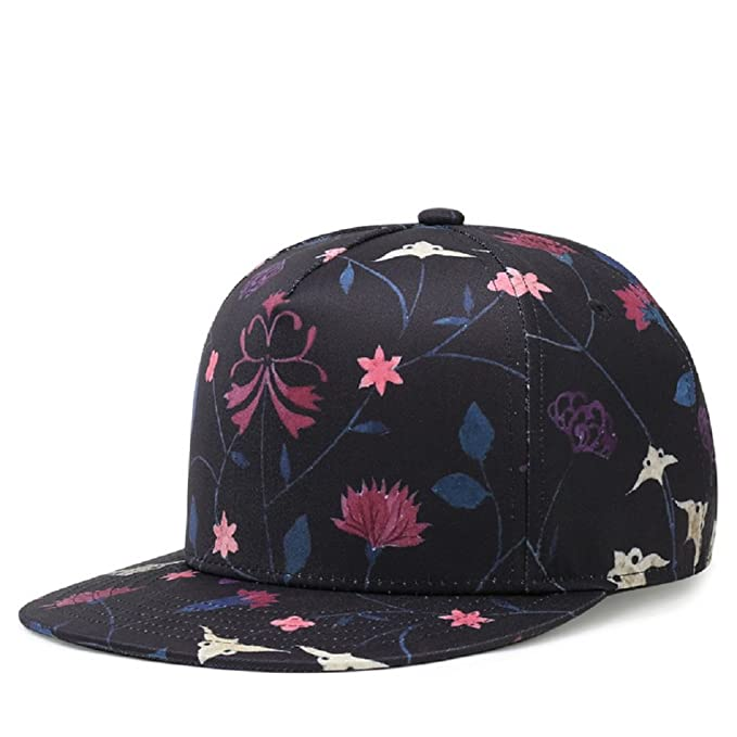 3D Printed Baseball Caps-Embroidery Brim Street Hip Hop Dancing Hats  Adjustable Snapback Caps( bf8758ac830