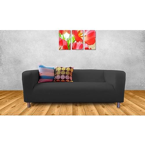 2 Seater Bedroom Sofa: Matching Bedrooms Ikea Klippan Black 2 Seater Sofa Cover