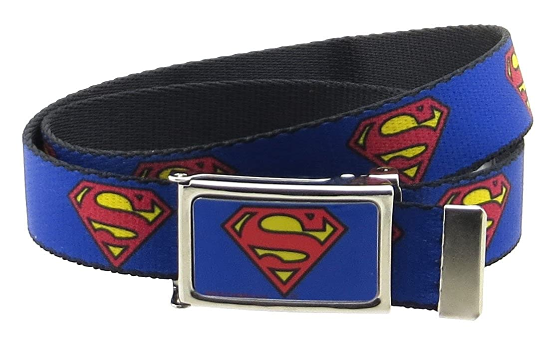Superman DC Comics Kids Web Belt 1.0