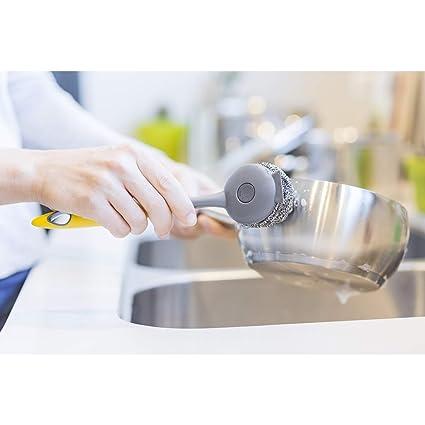 VIGAR Hergo Cepillo lavaplatos Intercambiable, Material: PP ...