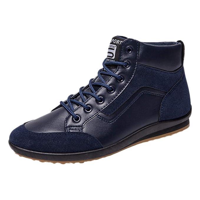 Darringls_Zapatos de hombre,Zapatos de Hombre de Ante Casual, Formales, con Cordones: Amazon.es: Ropa y accesorios