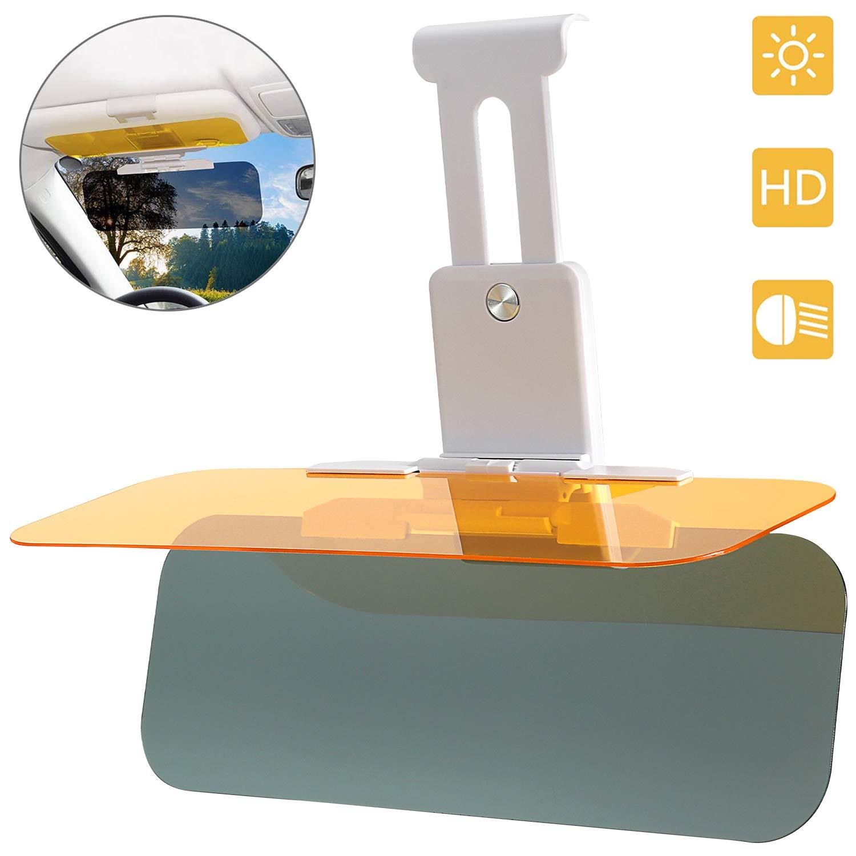 Car Visor Sun Blocker Adjustable Version Visor for Car Car Sun Visor Day//Night for Driving Winsall Visor for Car