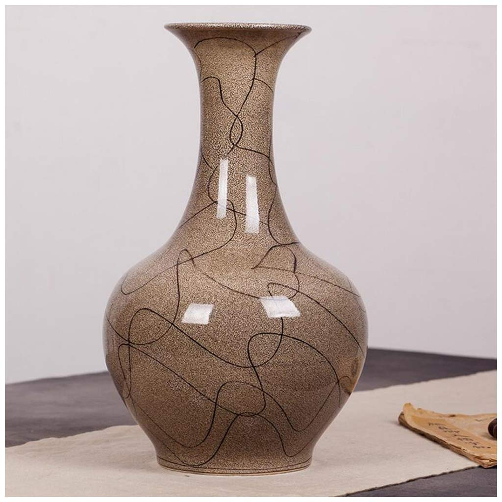 円柱装飾花瓶 花瓶AXZHYZ190603049シンプルなクリエイティブリビングルーム小さな花瓶ヨーロッパセラミックドライフラワーフラワーアレンジャー 写真円柱装飾花瓶ライフ花瓶フラワーショップブーケボックス B07SPCZN51
