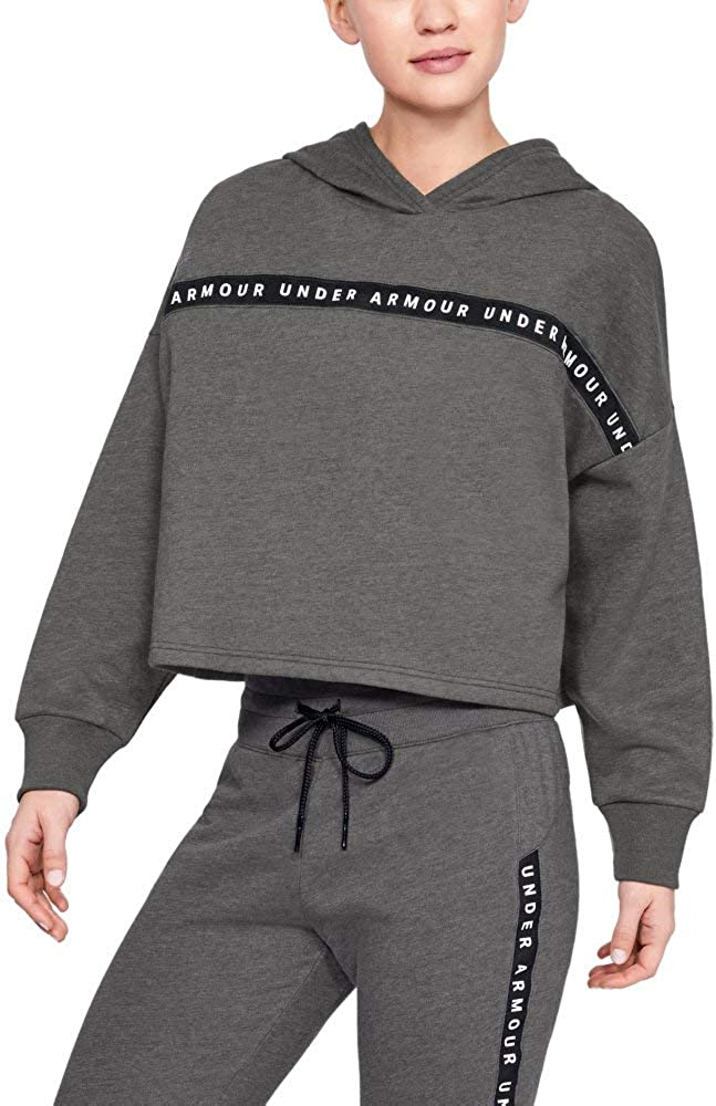 Under Armour Taped Fleece Hoodie: Clothing