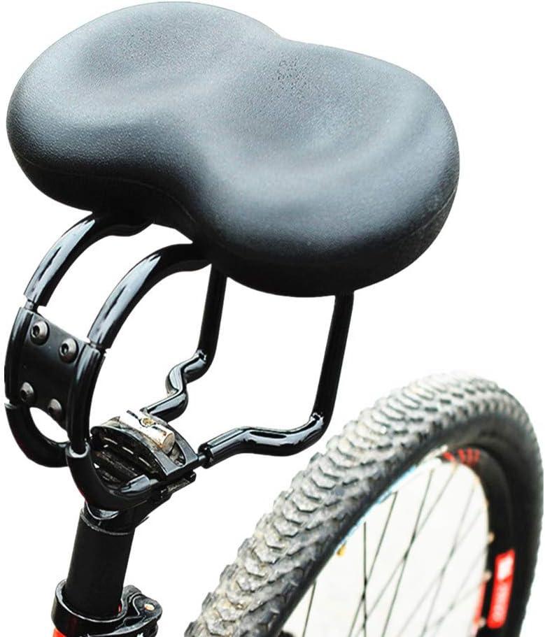 Sillín Gel Bicicleta de Montaña MTB Antiprostatico Asiento de bicicleta cómodo para personas mayores Sillín de bicicleta extra ancho y acolchado para hombres y mujeres Reemplazo de asiento de biciclet: Amazon.es: Hogar