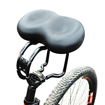 Extra Wide Comfortable Bike Seat for Seniors Comfort Bicycle Saddle