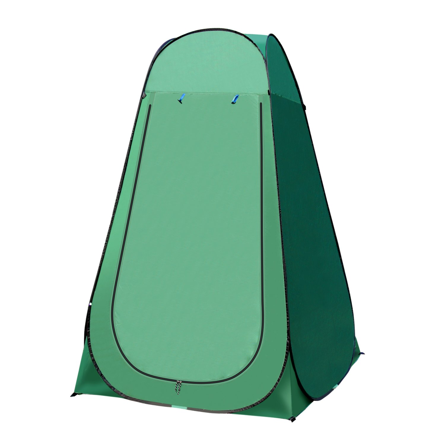 OutTopper Pop Up Camping Shower Tent,Waterproof Portable Toilet Changing Dressing Room Shelter with Carry Bag