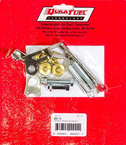 Quick Fuel Technology 49-3 Throttle Return Spring Kit (Square (Throttle Return Kit)