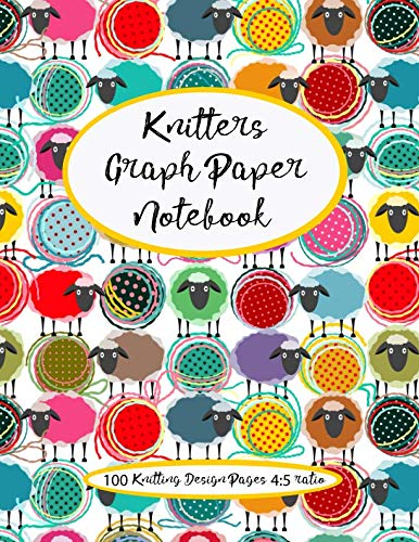 Knitter's Graph Paper Notebook: design your own