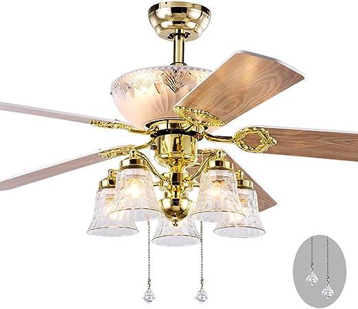 Ventiladores para el techo con lámpara Ventilador de Techo Europeo ...