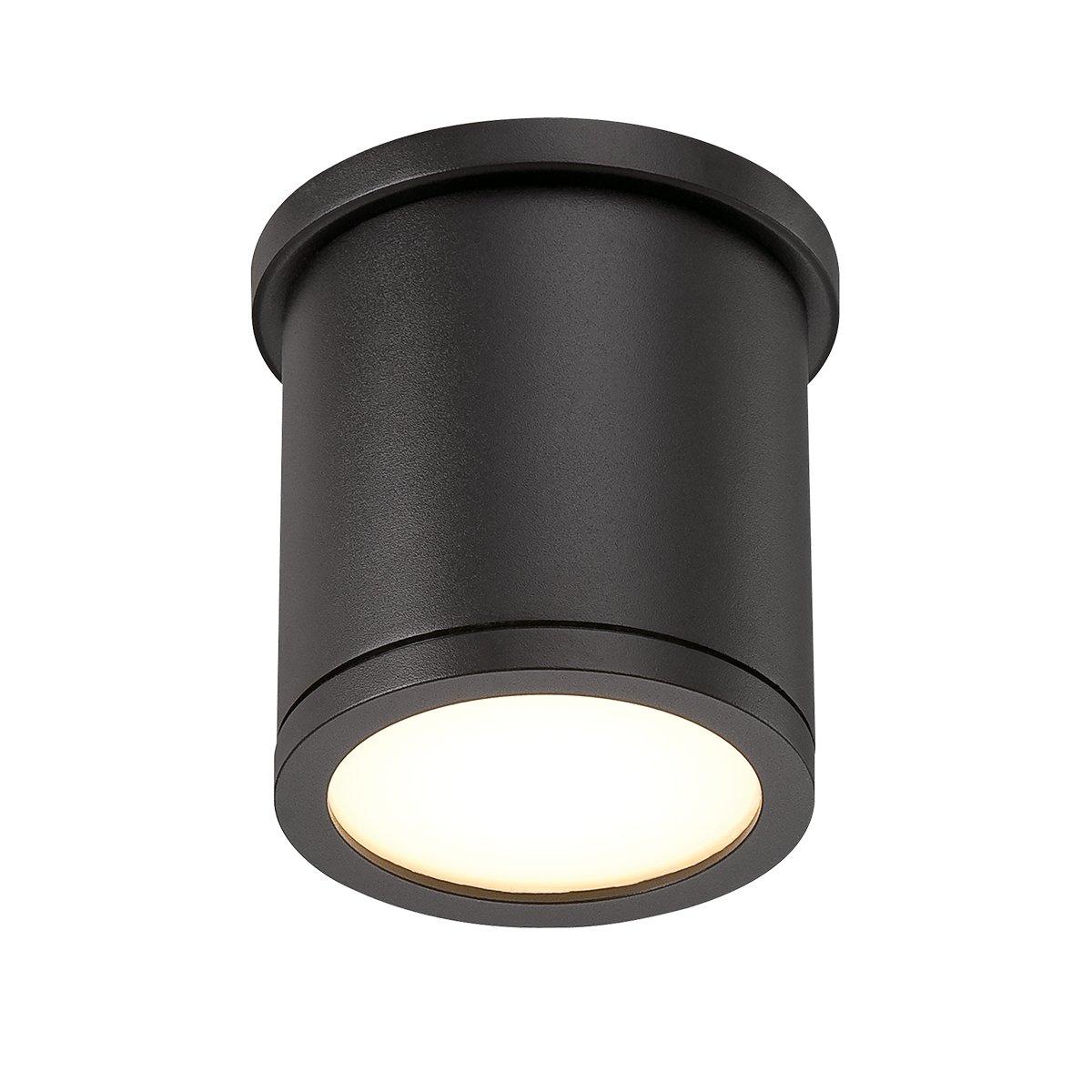 Wac lighting fm w2605 bz tube 5 outdoor led flush mount small wac lighting fm w2605 bz tube 5 outdoor led flush mount small whitebronze amazon aloadofball Choice Image