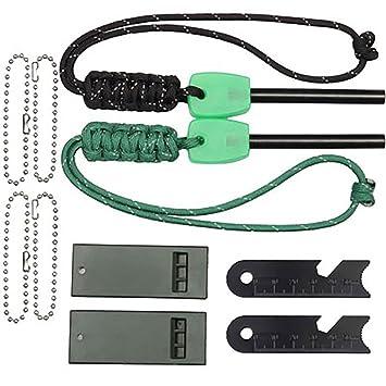 Fuego Starter MG Kit De Ignición De Pedernal, Resistente Al Fuego Pedernal, Herramienta De
