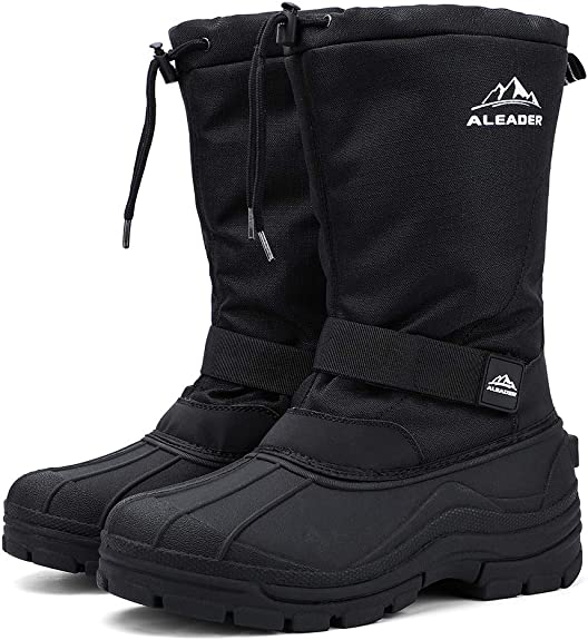 clam ice fishing boots