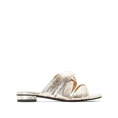 nouveaux styles f0b67 d9865 Amazon.com: La Redoute Collections Womens Flat Mules: Clothing