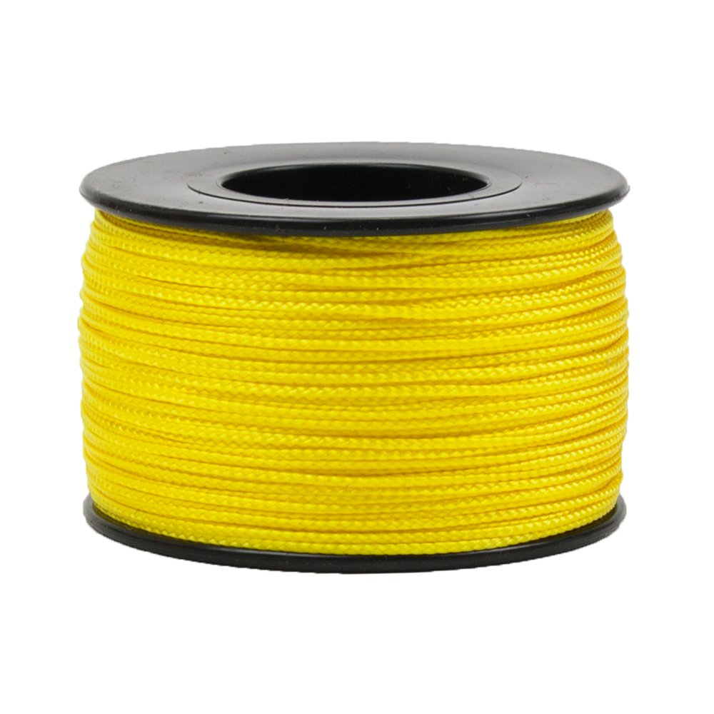 Assorted Color Options West Coast Paracord Nano Cord Lightweight Braided Cord 300 Foot Spool 0.75mm Diameter