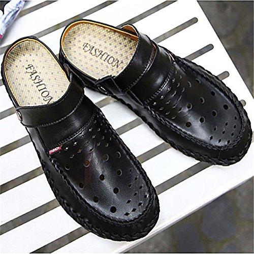 Nero Traspirante 0 CM 24 Da EU Traspiranti pantofole Wagsiyi 40 Sandali Traspiranti Dimensione da Nero Uomo 0 Uomo Colore Da Cava 27 Scarpe spiaggia xwA0q