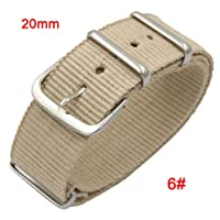 Dire-wolves Watch Band Nylon Cinghia da Polso Confortevole Nylon Watch Band 18 mm 20 mm 22 mm in Nylon balistico Watch Swiss Cinghie Fibbia in Acciaio Inossidabile