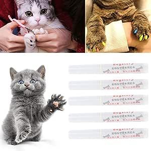 5 unidades de protectores de uñas para mascotas, perros, gatos y garras: Amazon.es: Hogar