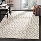 Safavieh Amsterdam Collection AMS105A Southwestern Geometric Ivory and Mauve Area Rug (5'1″ x 7'6″) Review