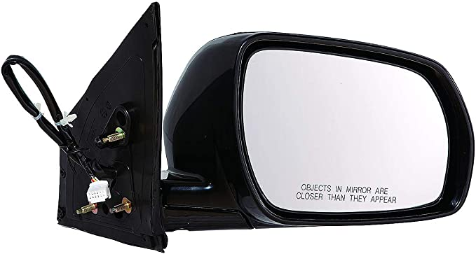 Gold Shrine for Nissan Murano Power Non-Heated Side Door Mirror 2005 2006 2007 Driver Left Side Replacement