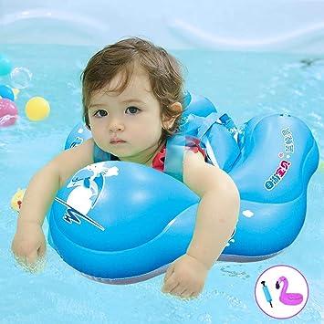 Amazon.com: Solar Marine - Flotador inflable para bebé, para ...