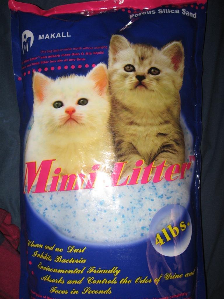Amazon Mimi Pet Cat Litter Silica Gel Crystals Ultra