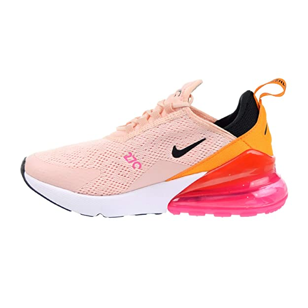 Nike W Air Max 270 Womens Sneakers AH6789 603, Washed CoralBlack Laser Fuchsia, Size US 6.5